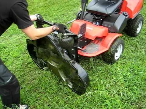 Tosaerba frontale rider jonsered fr2216ma2 con piatto da 112 cm youtube - Tondeuse pour terrain en pente ...