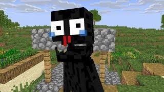 Monster school  ENDERMAN BECAME HERO - Minecraft Animation