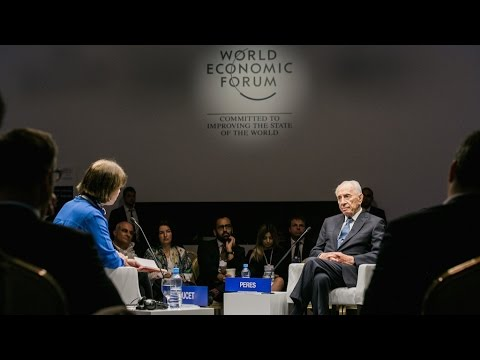 Jordan 2015 - A Conversation with Shimon Peres