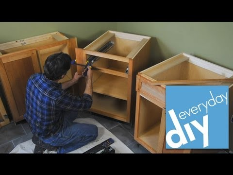 Buildipedia DIY - How to Install Kitchen Cabinets