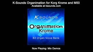 Awesome Organs for Korg Krome and M50 - K-Sounds Organimation