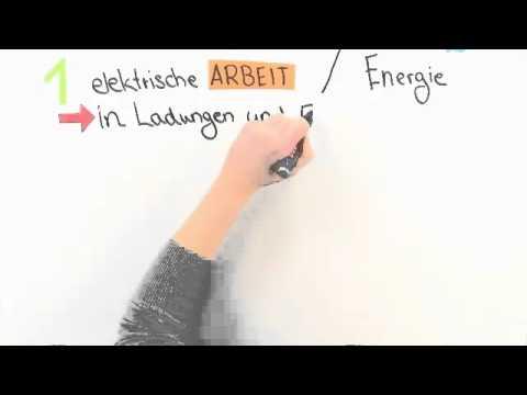 Arbeit Leistung Physik Physik Elektrische Arbeit Und