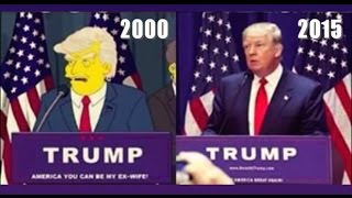 16 YEARS AGO THE SIMPSONS PREDICTED DONALD TRUMP WOULD BE PRESIDENTE? JUNE 20, 2016 (EXPLAINED)