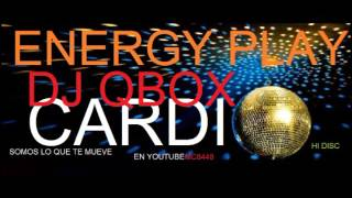 ENERGY PLAY DISCO dj qbox mixed for cardio