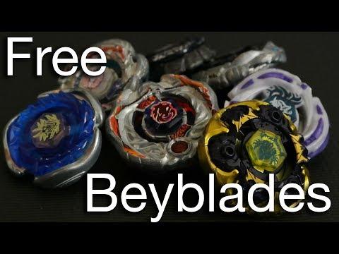 Beyblade Tutorial! : FREE BEYBLADES :D
