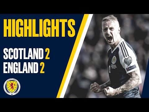 HIGHLIGHTS | Scotland 2-2 England