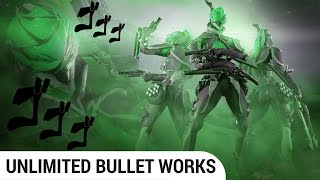 [Warframe] Mesa obliterates sorties to AI-composed rock music
