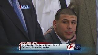 Jury Reads Hernandez Verdict