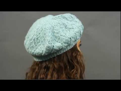 #24 Lace Beret, Vogue Knitting Holiday 2009
