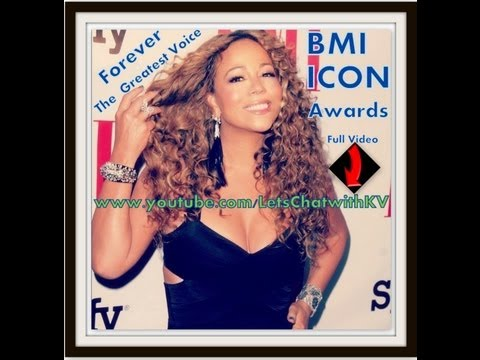 BMI ICON Mariah Carey Greatest Voice EVER !!!
