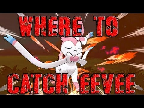 Pokémon X and Y - Where To Catch/Get Eevee/Sylveon