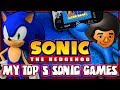 My Top 5 Sonic the Hedgehog Games