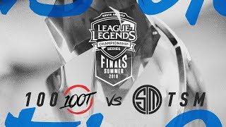 100 vs. TSM   Third Place Game 5   NA LCS Summer Playoffs   100 Thieves vs. TSM (2018)