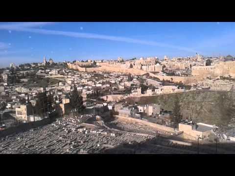 Видео прогулки по Израилю. Иерусалим . Старый город (2).