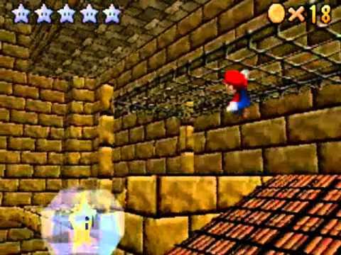 Super Mario 64 DS Fase 8: Arenas ardientes Estrellas 5-8