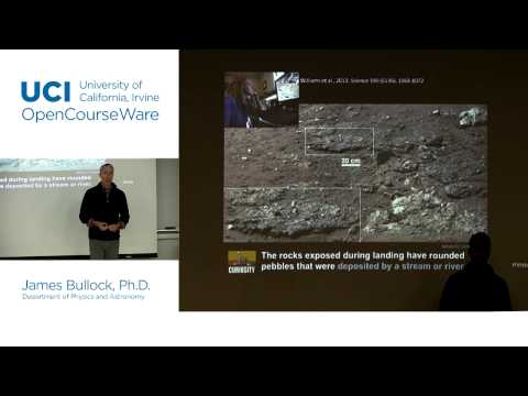 Physics 20E. Life in the Universe. Lec. 11: Water & Life on Mars