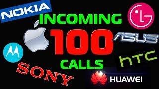 100 incoming calls