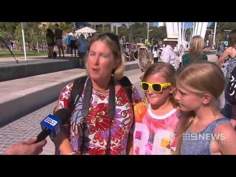 Elizabeth Quay Opening | 9 News Perth