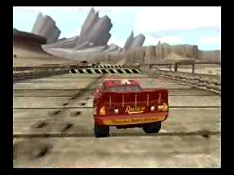 Cars Wii Game Play Clip (2006)