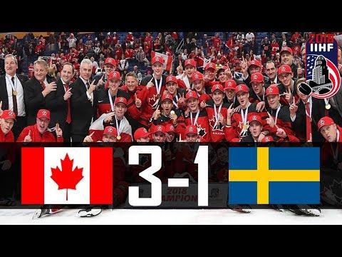 Canada vs Sweden | 2018 WJC GOLD MEDAL GAME | Highlights | Jan. 5, 2018