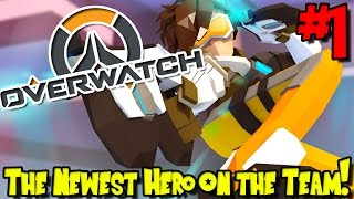 Overwatch (Minecraft Roleplay) - Episode 1 | The Newest Hero on the Team!