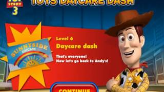 Toy Story 3's Toys Daycare Dash Walkthrough ~ Level 6: Daycare Dash (ALL Collectibles)