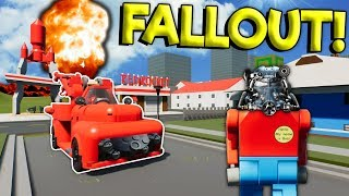 LEGO FALLOUT 76 APOCALYPSE MOVIE! - Brick Rigs Roleplay Gameplay - Lego City Video Game Movie