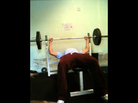 Huw Rhys Williams 110Kg/242.5lbs Bench Press