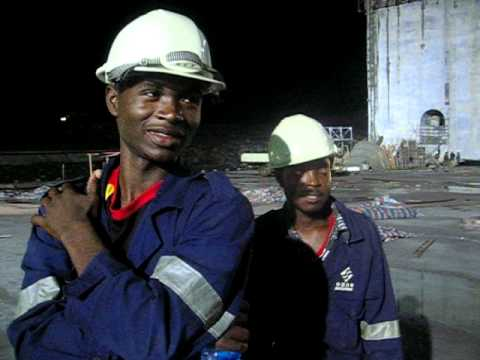 Civil Engineering Students Of Takoradi Polytechnic At Bui Dam Project video
