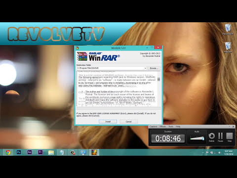 How to download and install WinRAR FREE | FULL VERSION 2014