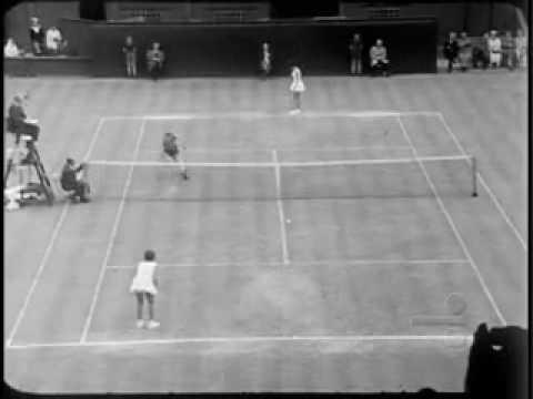 1962 - MARIA ESTHER BUENO EM WIMBLEDOM