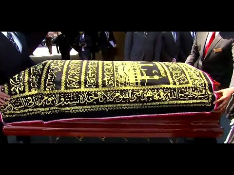 EMOTIONAL FNN MOMENT: Muhammad Ali's Casket Leaves Funeral Home