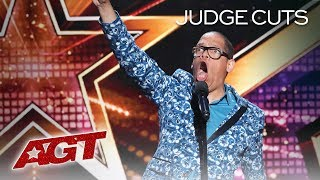 WOW! Voice Impressions From Famous Movies By The Incredible Greg Morton - America's Got Talent 2019