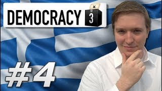 Democracy 3 | Max Difficulty Greece - Year 4