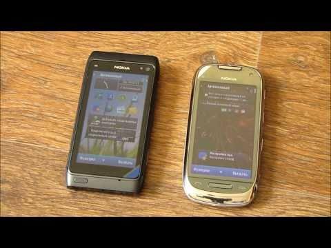 Nokia N8 против Nokia C7 [HD] 5 месяцев спустя