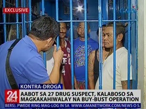 Aabot sa 27 drug suspect kalaboso sa magkakahiwalay na buy-bust operation