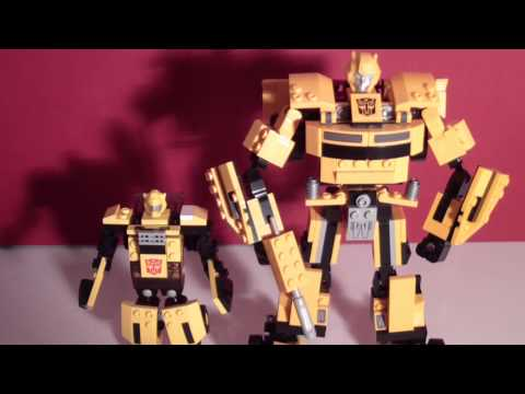 KRE-O BUMBLEBEE - BASIC TOY SET VIDEO REVIEW