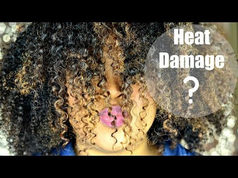 HEAT DAMAGE?! Dominican Blowout & High Heat: Protecting Natural Hair