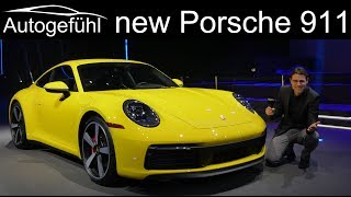 All-new Porsche 911 REVIEW Exterior Interior 992 2019 2020 - Autogefühl