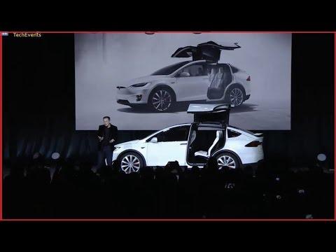 Tesla Motors Launches Tesla Model X Electric SUV