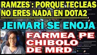 ESCÁNDALO RAMZES666 FEDEA, ROMPE SUS ITEM Y SE BURLA DE LOS PERUANOS | DOTA 2 COSAS