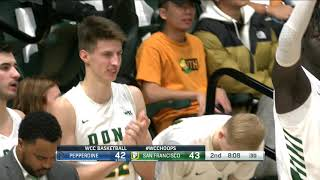 MBB | USF vs Pepperdine - Highlights