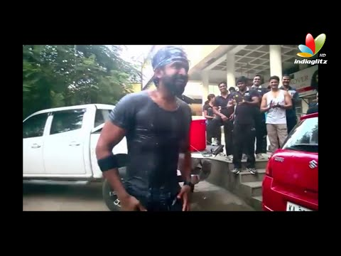 Arun Vijay Accepts Ice Bucket Challenge and Nominates for Thala 55 Team, Jayam Ravi, Harrris | ALS