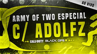 """TRIO DA DESTRUIÇÃO c/ ADOLFZ!"" Army of Two #07 - COD: Black Ops 3"