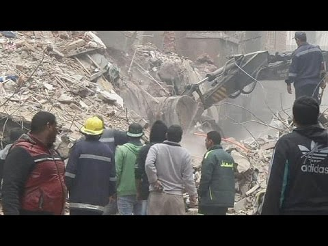 قتلى وجرحى في انهيار بناية سكنية في القاهرة