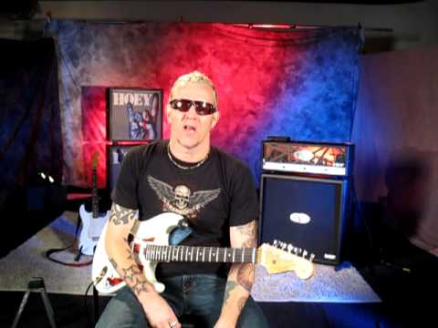 Lead guitar Gary Hoey, Behind the Scenes of his Rock House Shoot (Part 1)