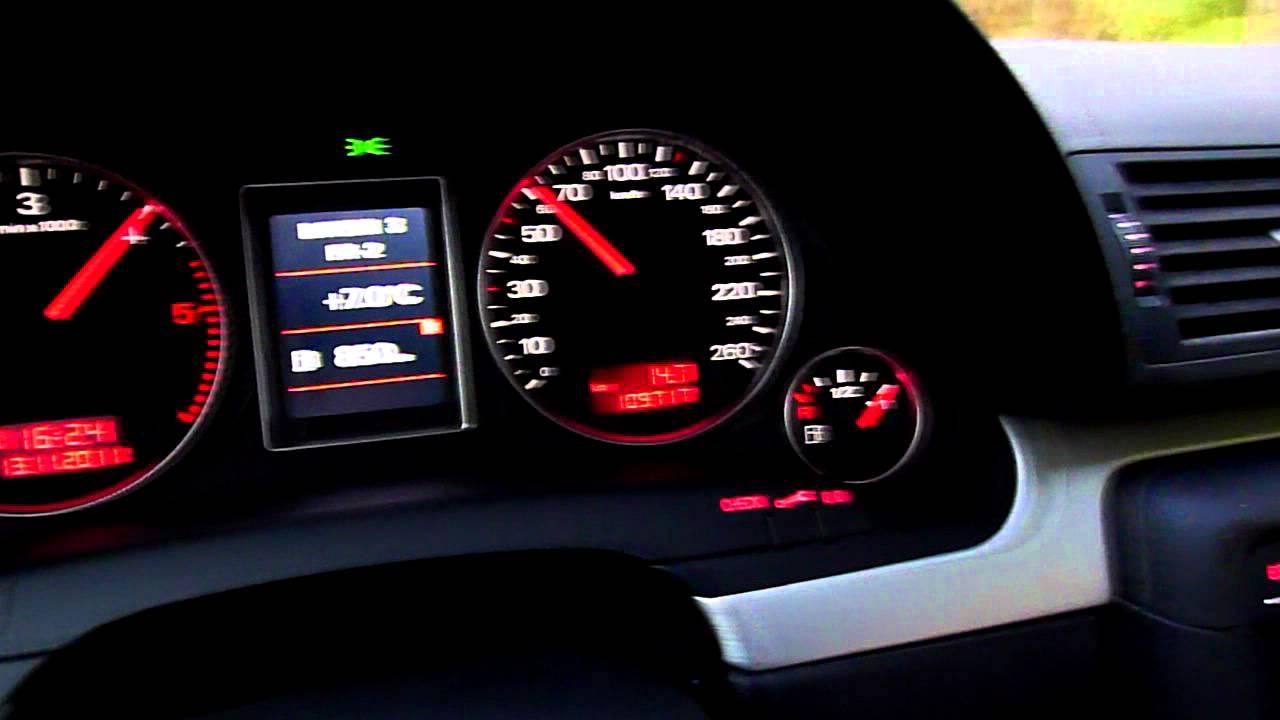 Audi A4 B7 3.0 TDI (ASB) Quattro + MTM Chip - YouTube