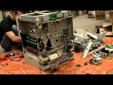 EEVblog #305 - Photocopier Time Lapse Teardown