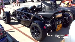 2x Ariel Atom 3 V8 Supercharged FAST LAUNCH and Sounds! 1080p Full HD