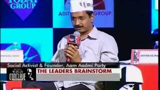 Arvind Kejriwal at India Today Conclave 2013 -  It is our duty to criticise